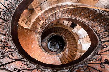 Treppe in der Form eines Auges von Roman Robroek