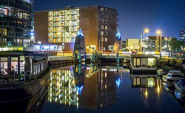 Winschoterdiep / Griffeweg Groningen von Stad in beeld