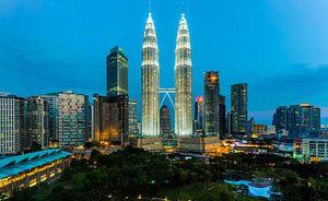 Morning glorie in Kuala Lumpur