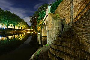 Catharijnesingel en Bijlhouwersbrug in Utrecht