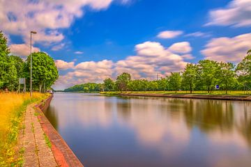 Twentekanaal Eefde bij de sluis van Han Kedde