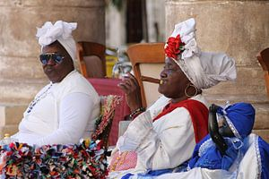 Cubaanse vrouwen van