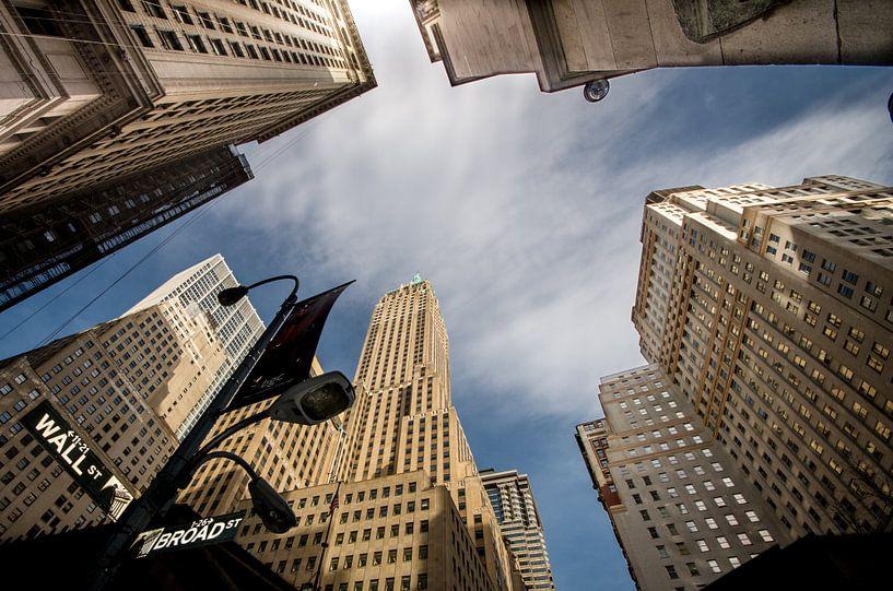 Wallstreet New York van Lex Scholten