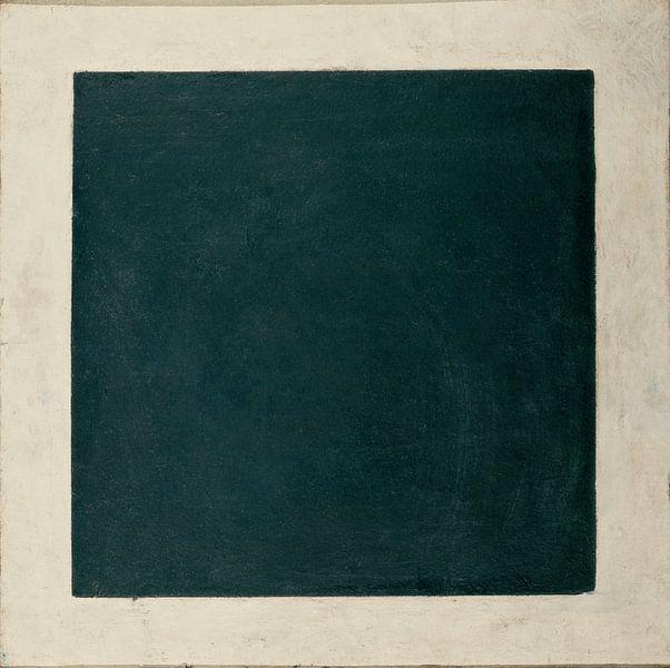 Kazimir Malevitsj, Zwart Vierkant, 1932 van Atelier Liesjes