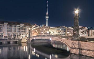 Stadsbeeld Berlijn Mitte van wukasz.p