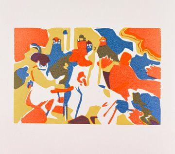 Blicke in die Vergangenheit. WASSILY KANDINSKY, 1971 von Atelier Liesjes