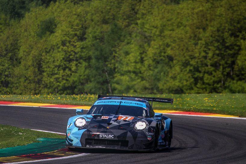 Porsche in de lente van Richard Kortland