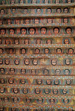 Debre Berhan: Debre Birhan Selassie kerk van Maarten Verhees