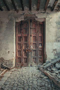 Verlaten plekken: Spaanse fabriekspoort. sur Olaf Kramer