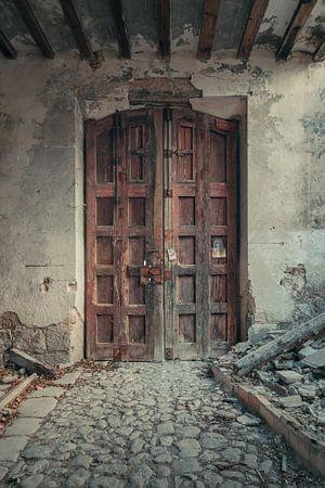 Verlaten plekken: Spaanse fabriekspoort. von Olaf Kramer