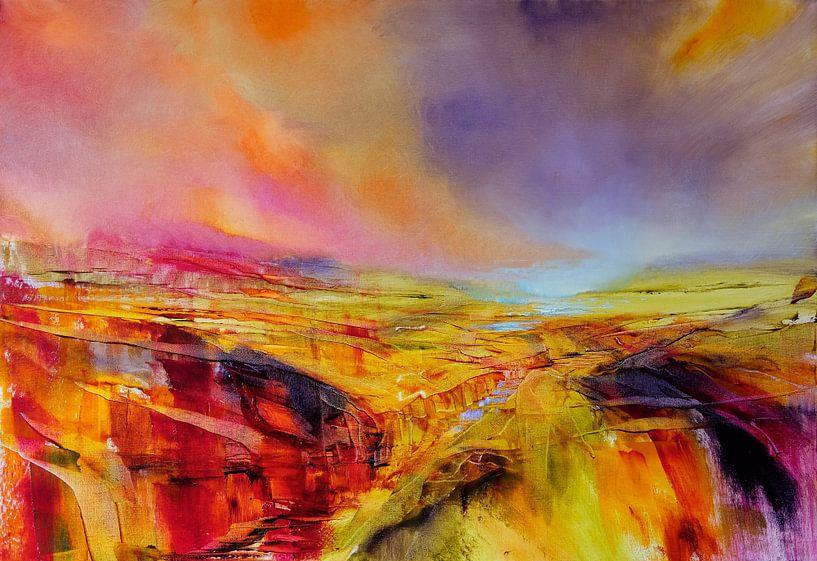Landschaft von Annette Schmucker