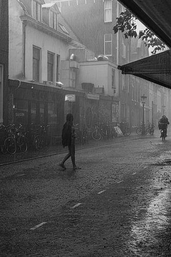 Een regenachtige dag in Utrecht