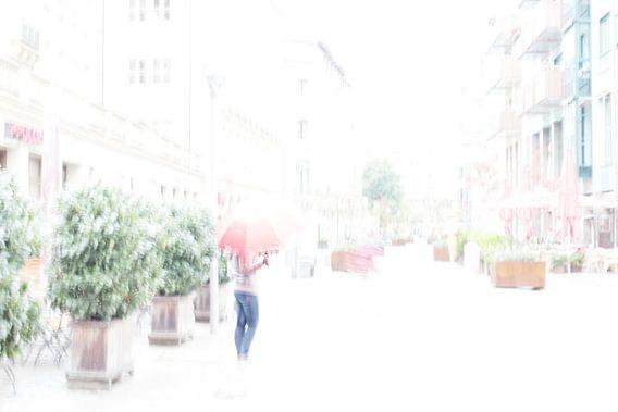 Spaziergänger in Chemnitz