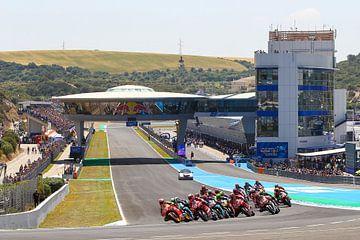 MotoGP Jerez Spain van Marco Dek