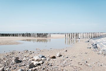 Vlissingen - Strandfotografie in het voorjaar in  Zeeland van Eleana Tollenaar