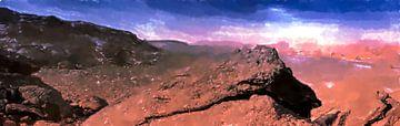 In de rotswoestijn van Frank Heinz