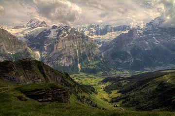 Grindelwald vallei von Dennis van de Water