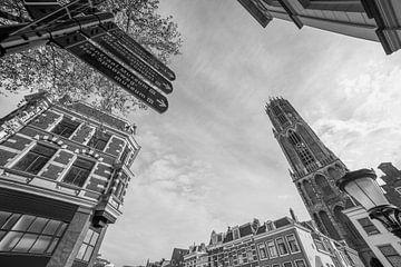 """Downtown Utrecht"" (Monochrome) von Kaj Hendriks"