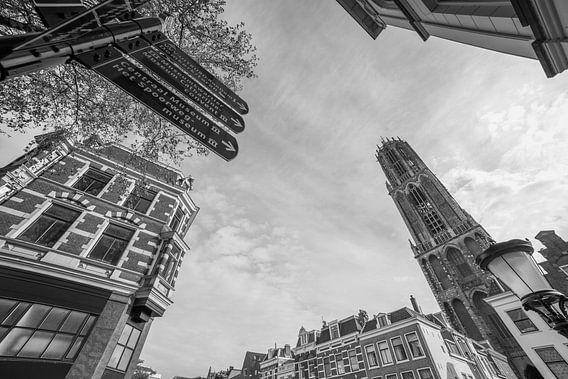 """Hartje Utrecht"" (Zwart-wit) van Kaj Hendriks"
