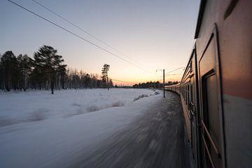 Transsibirischer Express II von Robert de Boer