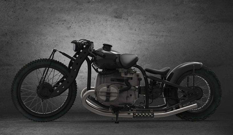 Concept Motorcycle Black van H.m. Soetens
