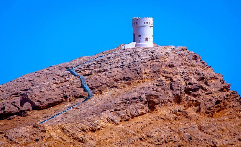 Castle on the Rock van Alex Hiemstra