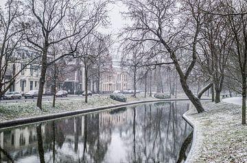 Het sneeuwt in Utrecht