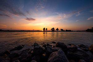 zonsondergang Zutphen Ijssel Zutphen van