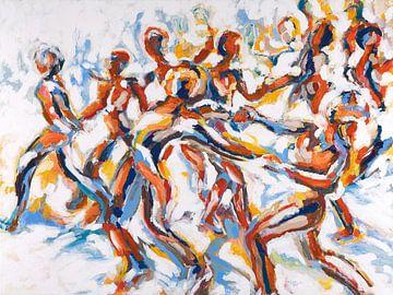 Party-Tanz von ART Eva Maria