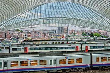 treinen, raket en auto's van Jo Beerens