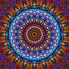 Mandala - de wereld is kleurrijk van Marion Tenbergen thumbnail
