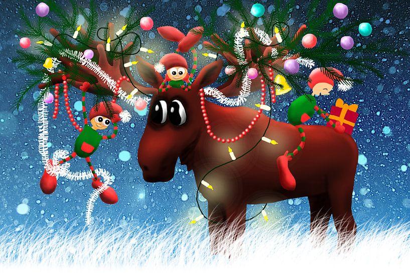 Kerst Eland van Marloes Boer