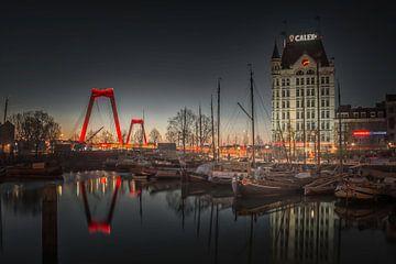 Alter Hafen von Rotterdam von Dennis Donders
