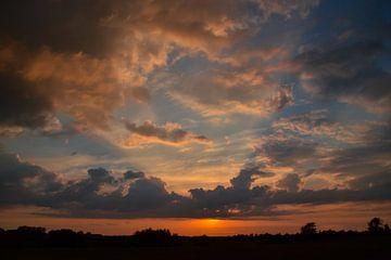 Danish sunset von Anita Meis