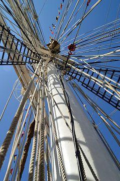 Mast van Tall Ship van Lambertus van der Vegt