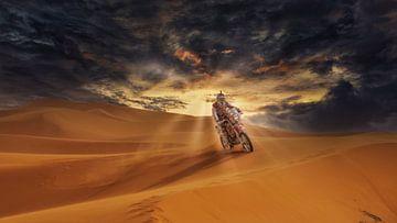 Marocco Desert Challenge van Fotografie Marco Houben