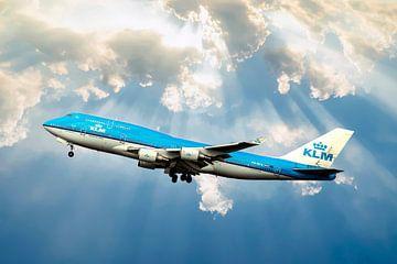 KLM 747-400 City of Bangkok, Corendon van Gert Hilbink