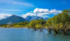 Natte voeten, Lake Hayes, Nieuw Zeeland