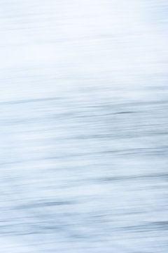 De zee | Abstract digitaal kunstwerk van Henriëtte Mosselman