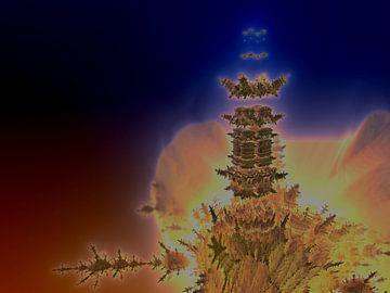 Drijvende toren van Frank Heinz