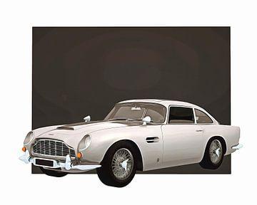 Klassieke auto – Oldtimer Aston Martin DB5