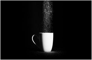 Sugar Rush Zwart Wit van de Roos Fotografie