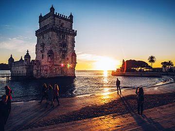 Lissabon - Torre de Belém von Alexander Voss