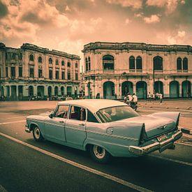 Vintage car in Havana - Cuba van Joris Pannemans