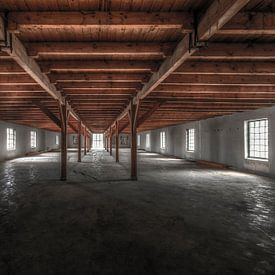 Symmetrie in de Ringersfabriek in Alkmaar van Sven van der Kooi