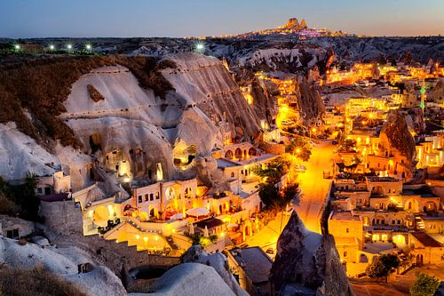 Zonsondergang in Cappadocië van Roy Poots