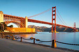 Golden Gate Bridge bei Sonnenaufgang von Markus Lange