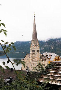 Idyllisch Hallstatt - Bergdorp in Oostenrijk van HappyTravelSpots