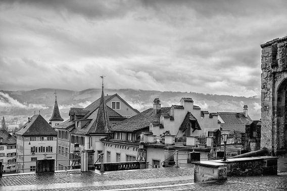 Regen in Rapperswil(Zwitserland)