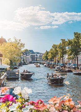 Frühling in Leiden von Hege Knaven-van Dijke